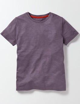 Paisley Purple Slub Washed T-Shirt