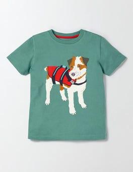 Kelp Big Appliqué T-Shirt