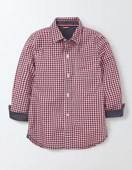 Explorer Red Gingham Laundered Shirt