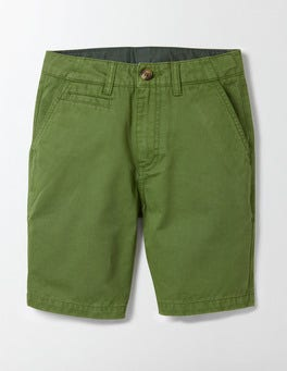Action Green Chino Shorts