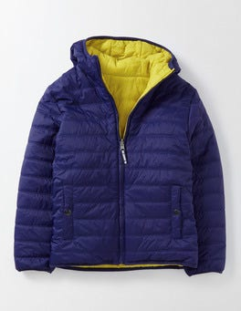 Workwear Blue Reversible Chilly Days Jacket