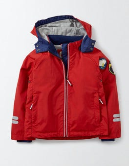 Salsa Red Jersey Lined Anorak
