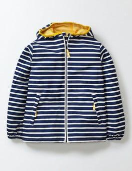 Navy/Ivory Stripe Waterproof Packaway