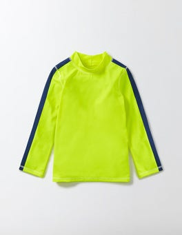 Neon Yellow Rash Vest