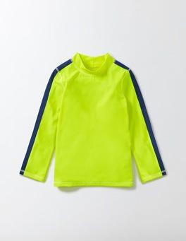 Neon Yellow Rash Guard