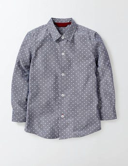 Dark Denim Chambray Shirt