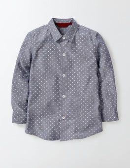 Dark Denim Chambray Shirt