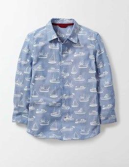 Light Chambray Boats Chambray Shirt