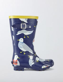 Beacon Rescue Gulls Printed Wellies