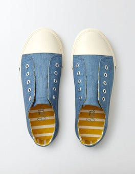 Denim Laceless Pull-ons
