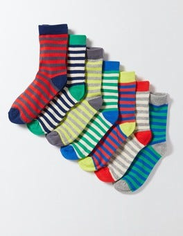 Stripe Pack 7 Pack Sock Box