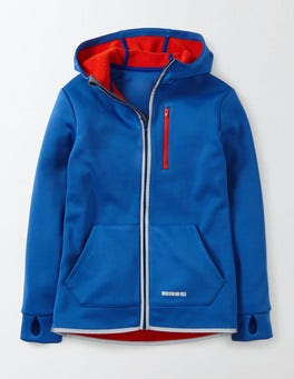 Bright Blue Active Zip-through