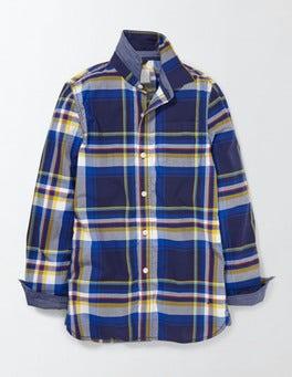 Tokyo Blue Check Check Shirt