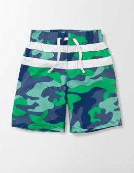Astro Green Camo Poolside Shorts