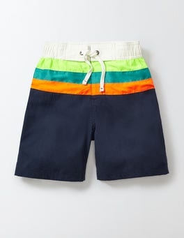 Navy Poolside Shorts