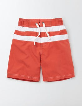 Soft Red Poolside Shorts