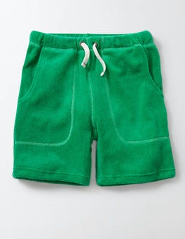 Mint Towelling Shorts