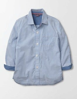 Sea Blue Laundered Shirt