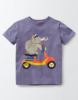 Dark Wisteria Animal Antics T-Shirt