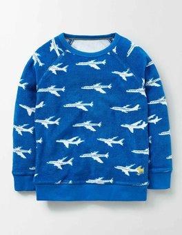 Skipper Planes Towelling Sweatshirt