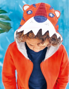 Novelty Zip-through Hoodie