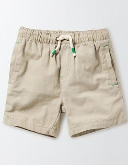 Earl Grey Drawstring Shorts