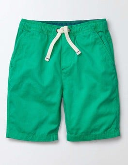 Mint Pull-on Shorts