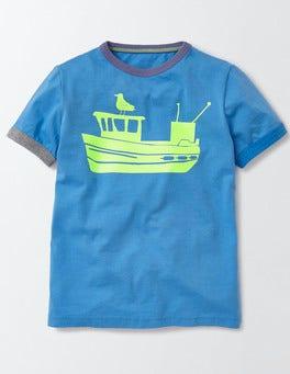 Bateau Blue Maritime Adventure T-shirt