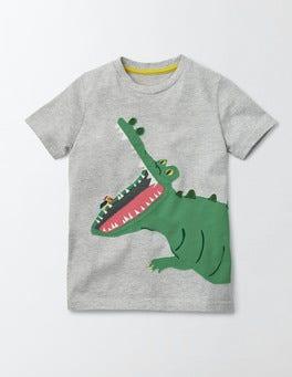 Animal Appliqué T-shirt