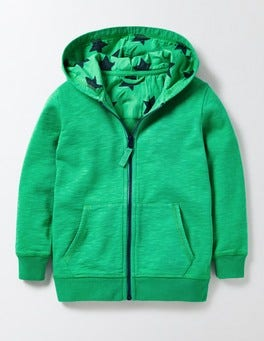 Astro Green Lightweight Zip-through