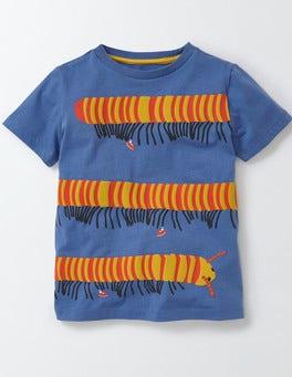 Cornish Blue Jungle Bugs T-shirt