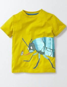 Mimosa Yellow Jungle Bugs T-shirt