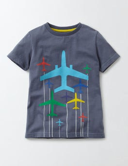Mystic Plane Travel T-Shirt