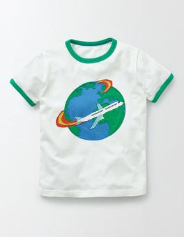 Ivory Jet Setter Explorer T-Shirt