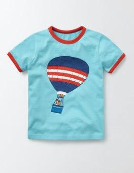 Bitter Blue Explorer Sprout Explorer T-shirt