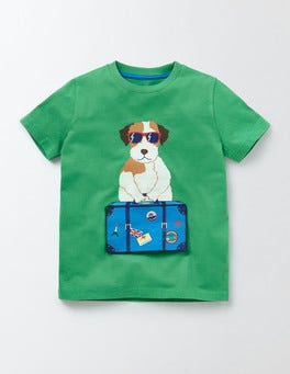 Green Novelty Animal T-shirt