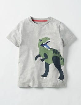 Big Animal Appliqué T-shirt