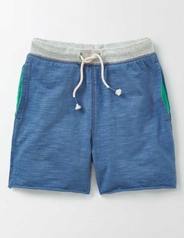 Cornish Blue Slub Sweatshorts