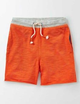 Marmalade Orange Slub Sweatshorts