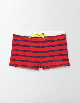 Ziggy and Beacon Stripe Swim Trunks