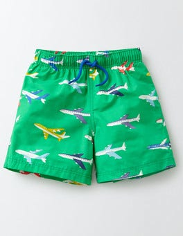 Bright Green Planes Bathers