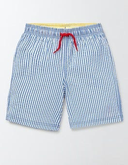 Skipper Stripe and Anchor Swim Shorts