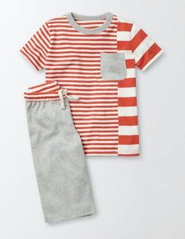 Ziggy and Ecru Stripe Hotchpotch Pyjamas
