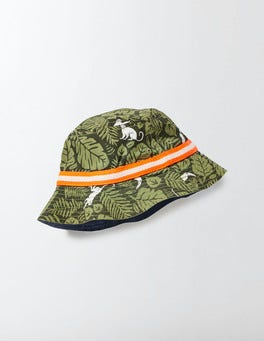 Khaki Monkey Palm Fisherman's Hat