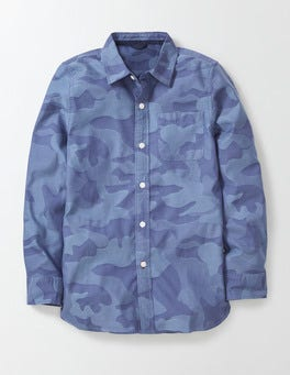Blue Camo Blues Shirt