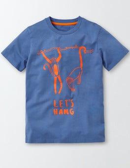 Cornish Blue Animal Hangout T-shirt
