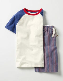 Starboard Stripe Short Pyjama Set