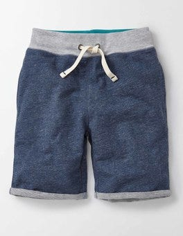 Navy Marl Summer Sweatshorts