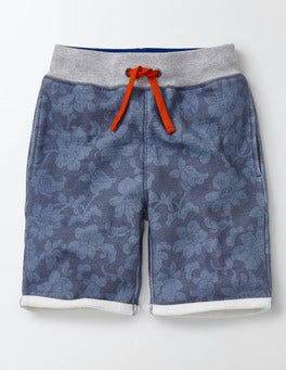 Cornish Blue Hawaiian Summer Sweatshorts