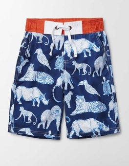 Beacon Jungle Animals Board Shorts